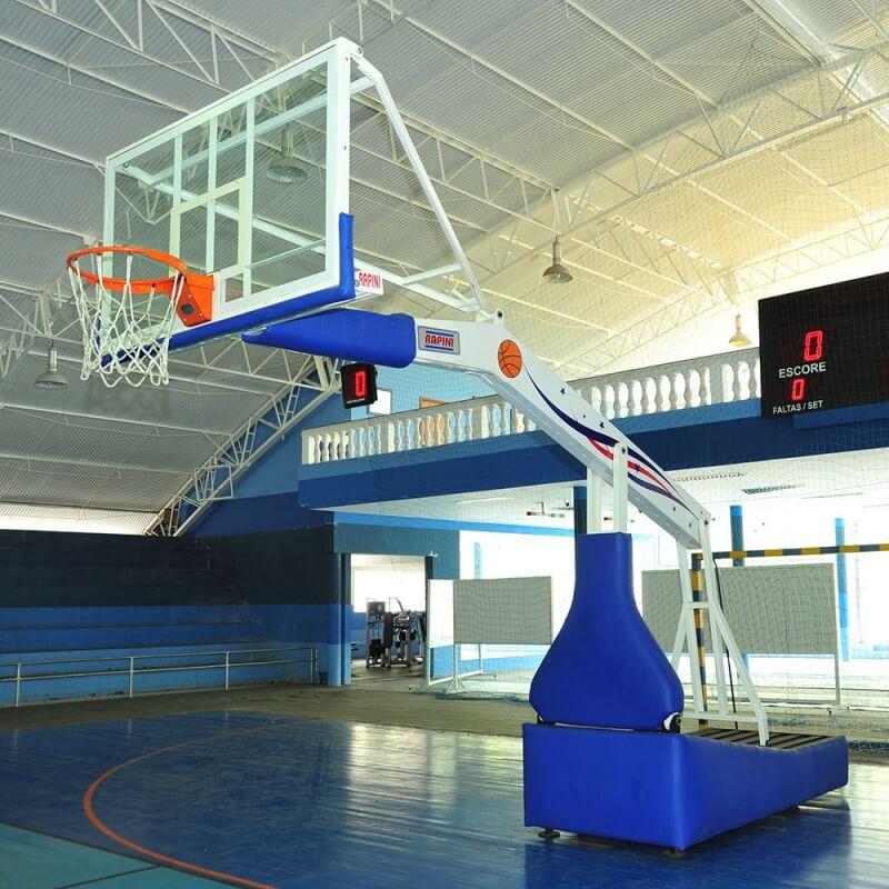 Tabela De Basquete Móvel Hidráulica Modelo NBA